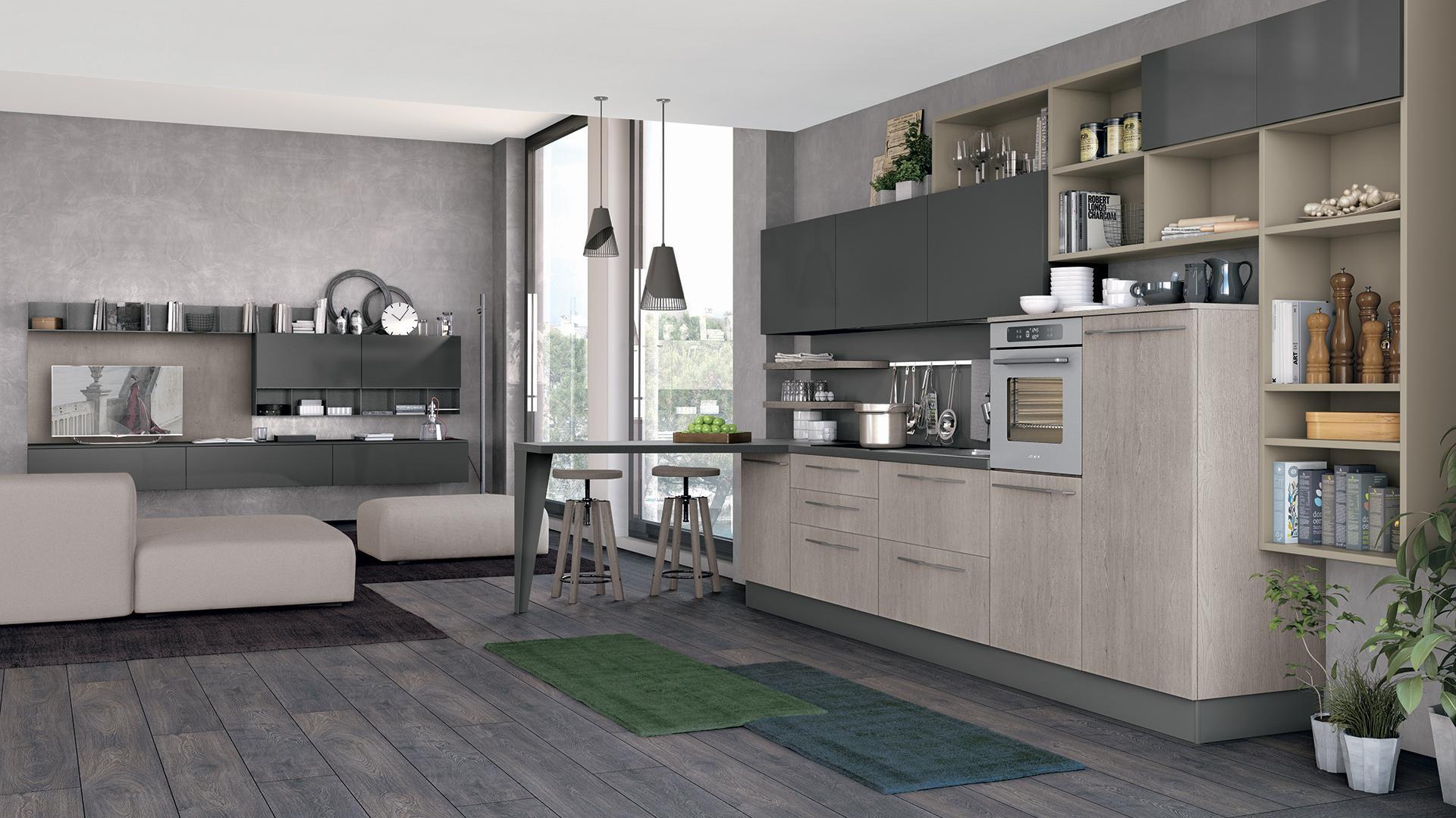 Cucine Moderne Con Dispensa. Excellent Disegno Cucine Con Dispensa ...