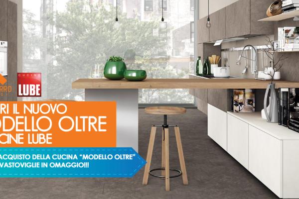 Scopri il nuovo modello oltre di Cucine Lube - Mantarro - Soluzioni d'arredo