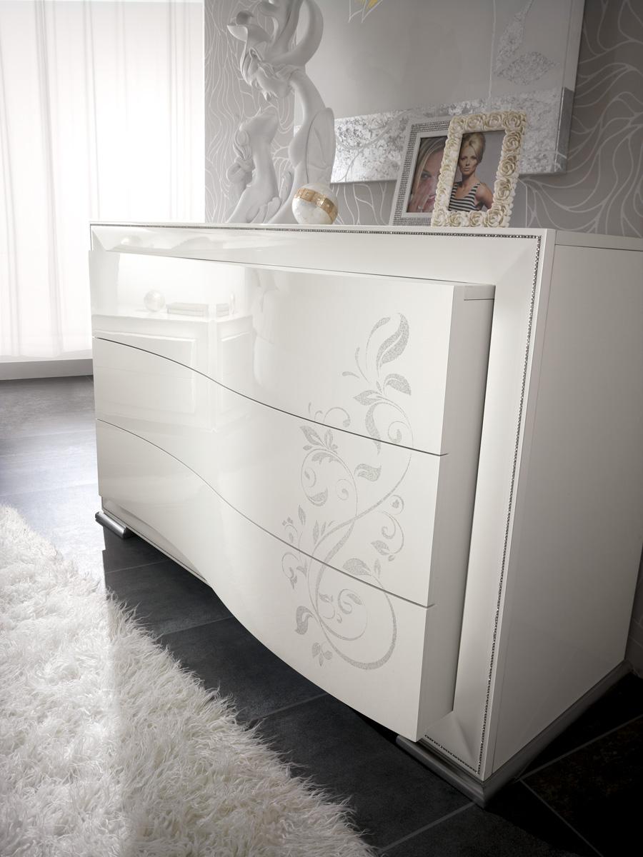 arredamento camera da letto moderna: alveo chest of drawers with 6
