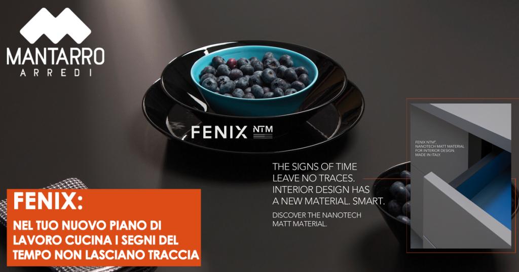 Fenix: Nel tuo nuovo piano di lavoro cucina i segni del tempo non lasciano traccia - Mantarro - Soluzioni d'arredo